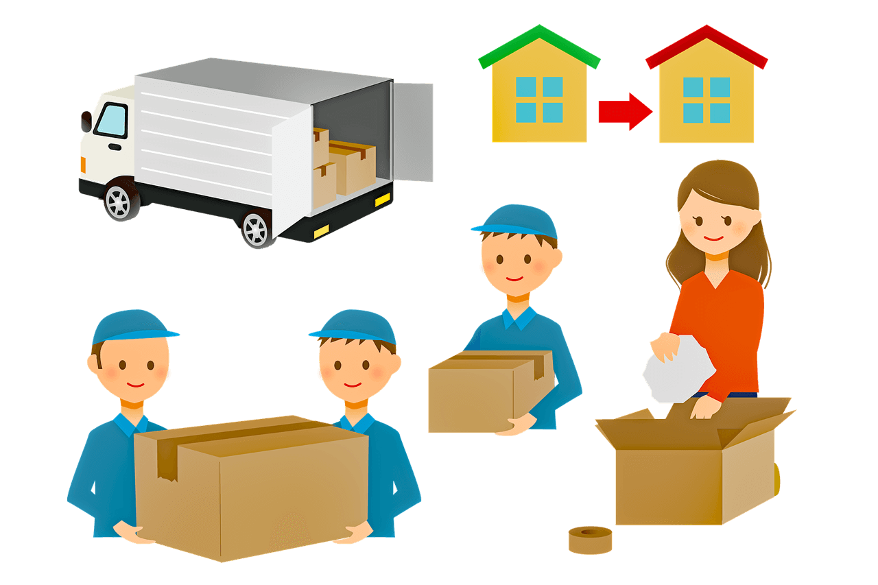 Packing – Boxes – Moving Day